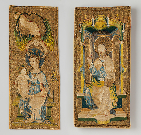 Orphrey Panels from a Chasuble
